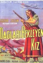 Dağları Bekleyen Kız (1955) afişi