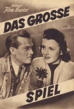 Das Große Spiel (1942) afişi