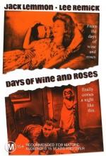 Days Of Wine And Roses (1962) afişi