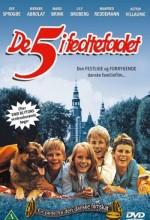 De 5 I Fedtefadet (1970) afişi