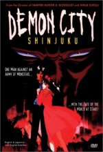 Demon City Shinjuku (1988) afişi