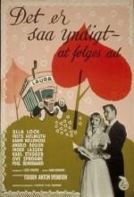 Det Er Så Yndigt At Følges Ad (1954) afişi