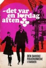 Det Var En Lørdag Aften (1968) afişi