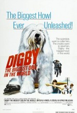 Digby, The Biggest Dog In The World (1973) afişi