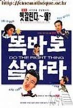Do The Right Thing - Ttogbalo Sal-ala (1997) afişi