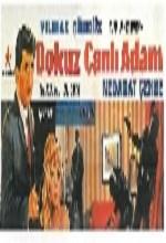 Dokuz Canlı Adam (1965) afişi