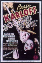 Doomed To Die (1940) afişi