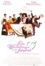 Dört Nikah Bir Cenaze (1994) afişi