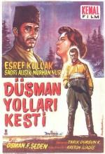 Düşman Yolları Kesti (1959) afişi