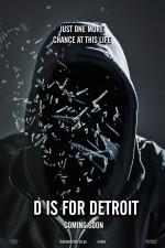 D is for Detroit (2016) afişi