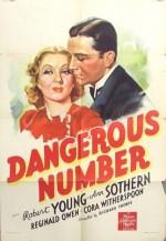 Dangerous Number (1937) afişi