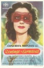 Domingo de carnaval (1945) afişi