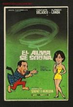 El Alma Se Serena (1970) afişi