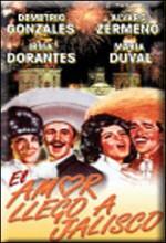 El Amor Llegó A Jalisco (1963) afişi