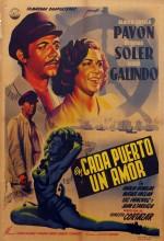 En Cada Puerto Un Amor (1949) afişi