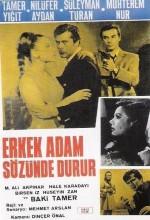 Erkek Adam Sözünde Durur (1967) afişi