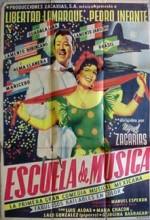 Escuela De Música (1955) afişi