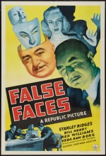 False Faces (1943) afişi