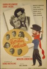 Familien Gelinde (1944) afişi