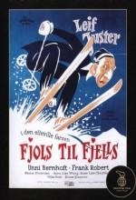 Fjols Til Fjells (1957) afişi