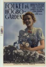 Folket På Högbogården (1940) afişi