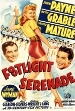 Footlight Serenade (1942) afişi