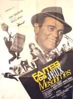 Faites vos jeux, mesdames (1965) afişi