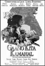 Gaano Kita Kamahal (1968) afişi