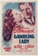 Gambling Lady (1934) afişi