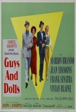 Guys And Dolls (1955) afişi