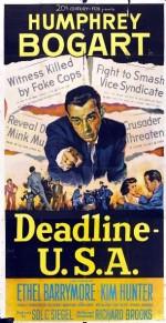 Gazeteciler Savaşı (1952) afişi