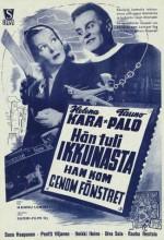 Hän Tuli Ikkunasta (1952) afişi
