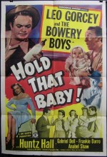 Hold That Baby! (1949) afişi