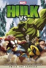 Hulk Vs. Wolverine / Hulk Vs. Thor (2009) afişi