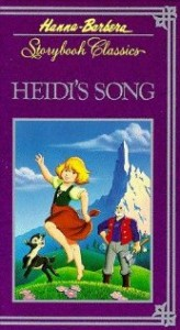 Heidi's Song (1982) afişi