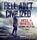 Hell on Wheels Sezon 5 (2015) afişi
