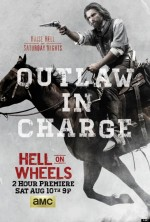 Hell on Wheels Sezon 3 (2013) afişi
