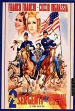 ı Due Sergenti Del Generale Custer (1965) afişi