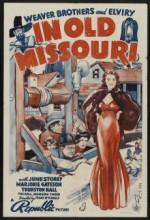 ın Old Missouri (1940) afişi