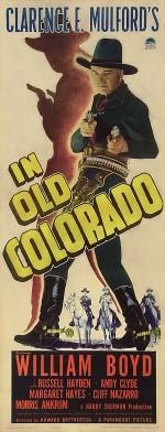 ın Old Colorado (1941) afişi
