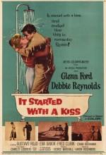 It Started With A Kiss (1959) afişi