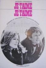 Je T'aime, Je T'aime (1968) afişi