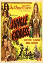 Jungle Goddess (1948) afişi