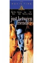 Just Between Friends (1986) afişi