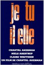 Je, tu, il, elle (1974) afişi