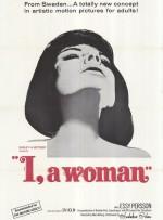 Jeg - en kvinde (1965) afişi