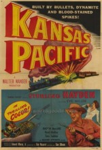 Kansas Pacific (1953) afişi