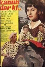 Kanun Der Ki (1962) afişi