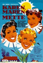 Karen, Maren Og Mette (1954) afişi