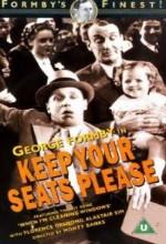 Keep Your Seats, Please (1936) afişi
